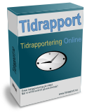 Tidrapport box